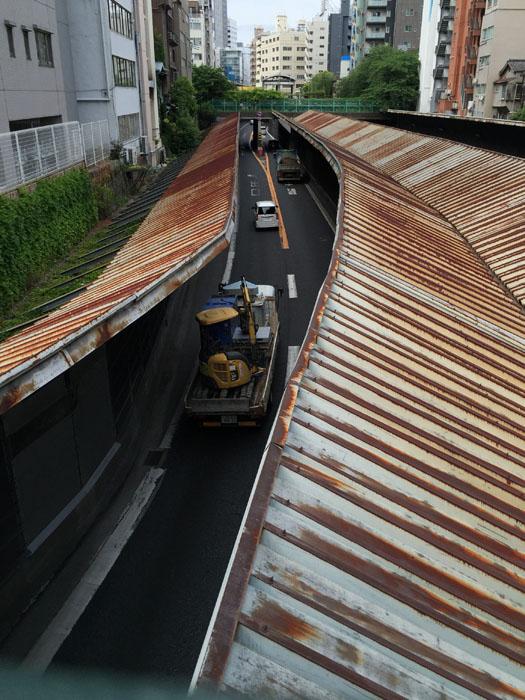 えんどう豆 首都高速道路 銀座-7.jpg