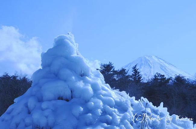 オリョウサン二つの富士山.西湖野鳥の森公園のコピー.jpg
